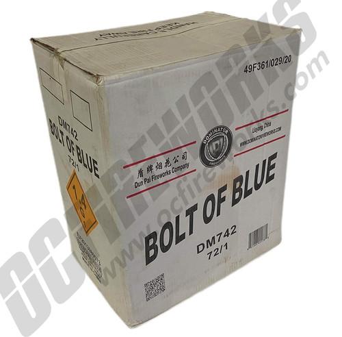 Wholesale Fireworks Bolt of Blue 72/1 Case