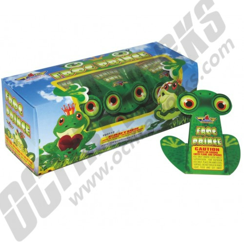 Frog Fireworks 6/pk