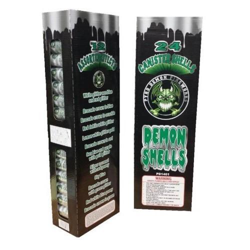 Demon Shells 24/ct Kit w/HDPE Tubes