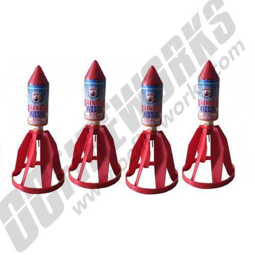 Avenger Missile 4/pk