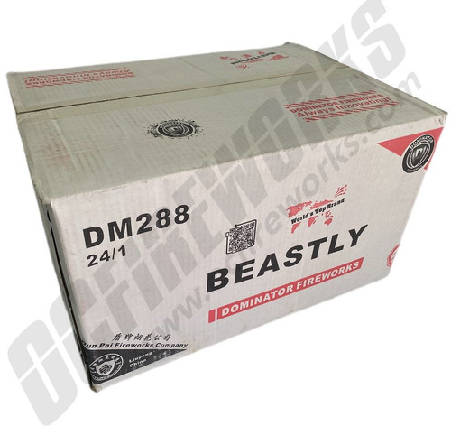 Wholesale Fireworks Beastly 24/1 Case