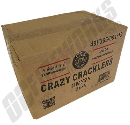 Wholesale Fireworks Crazy Cracklers 36/6 Case