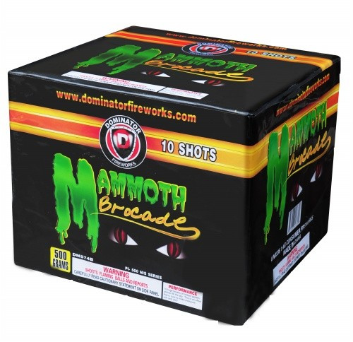 Wholesale Fireworks Mammoth Brocade 4/1 Case