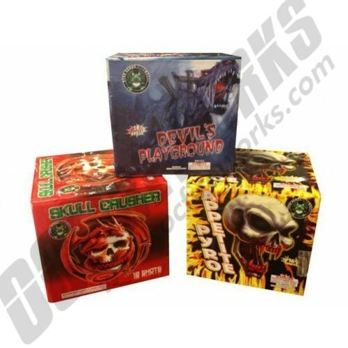 Pyro Demon 3-Pack Assortment