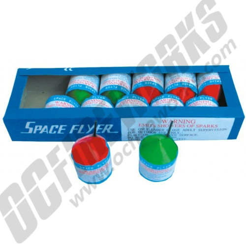 Space Flyer 12/pk