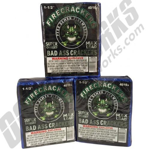Bad Ass Crackers Half Brick 40/16s