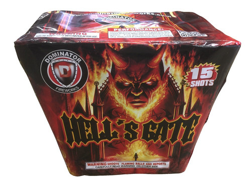 Wholesale Fireworks Hell's Gate 16/1 Case