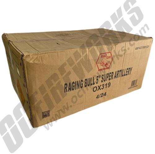 """Wholesale Fireworks Raging Bull 5"""" Super Canister Shell Kit Case 4/24"""