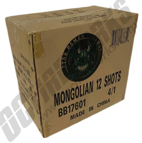 Wholesale Fireworks Mongolian 4/1 Case