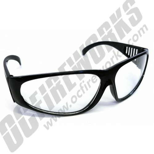 Clear Safety Glasses (1-Pair)