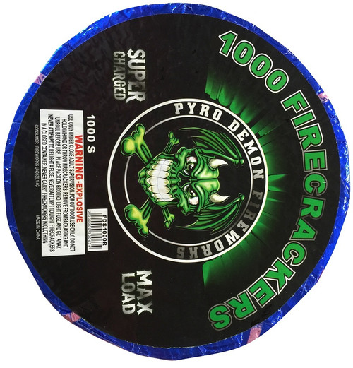 Wholesale Fireworks Bad Ass Crackers 1000 Roll Case 16/1000