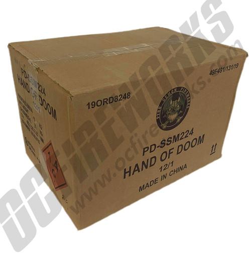 Wholesale Fireworks Hand Of Doom Case 12/1