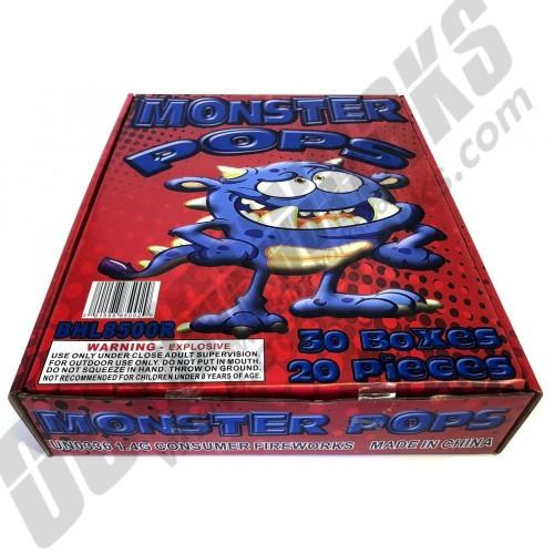 Monster Snaps Display Box 30/20