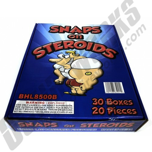 Snaps On Steroids Display Box 30/20