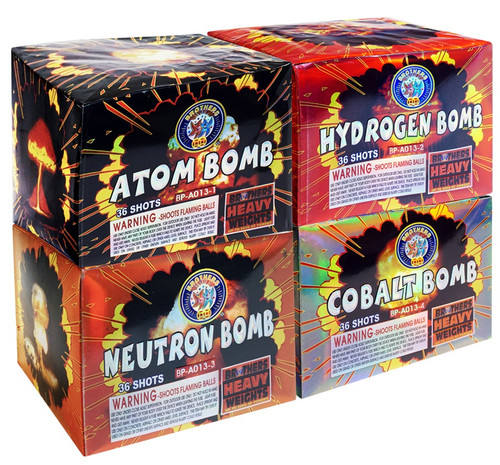 Da Big Bomb Box 4-Pack Assortment