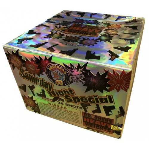 Wholesale Fireworks Saturday Night Special 36 Shots Case 4/1