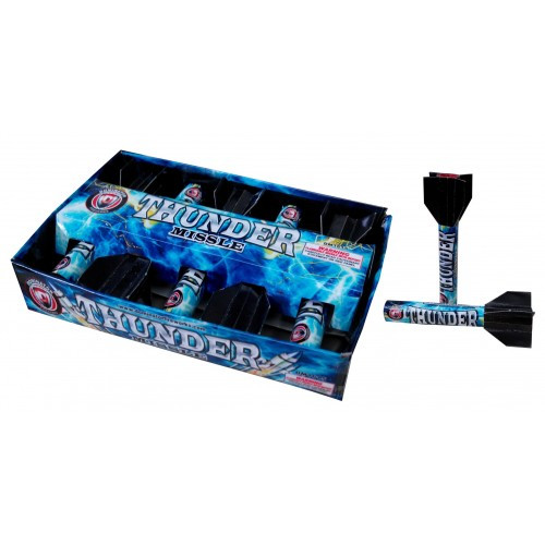 Wholesale Fireworks Thunder Missile Case 12/5