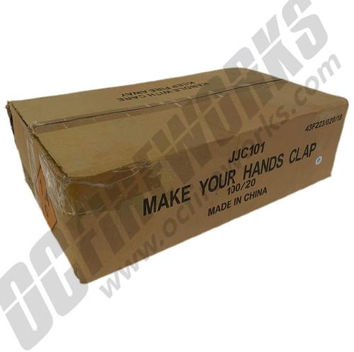 Wholesale Fireworks Make Your Hands Clap 100/20 Case
