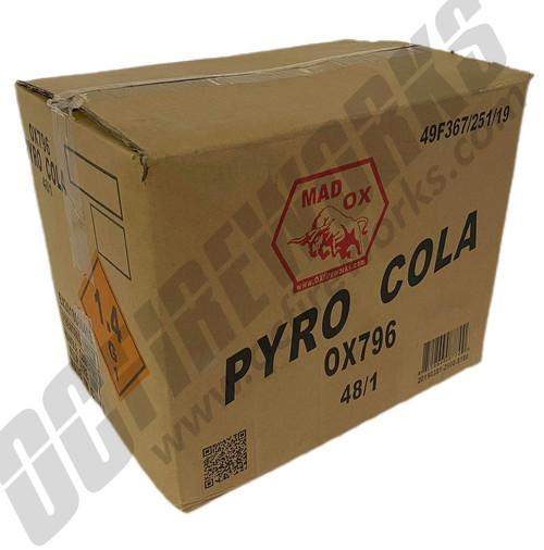 Wholesale Fireworks Pyro Cola Case 48/1