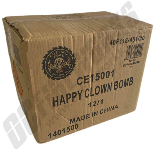Wholesale Fireworks Happy Clown Bomb Case 12/1