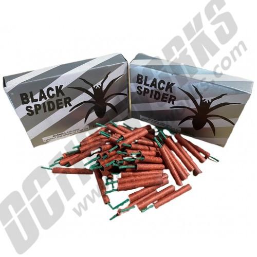 Black Spider Firecrackers 60ct Box