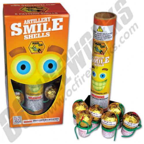 Smiley Face Artillery Shells