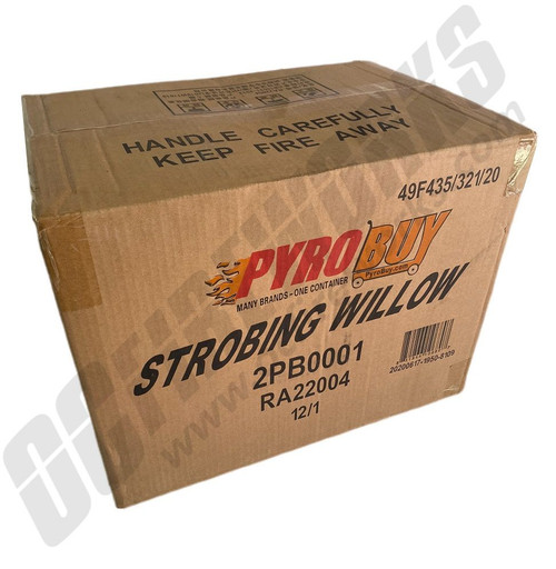 Wholesale Fireworks Strobing Willow Case 12/1