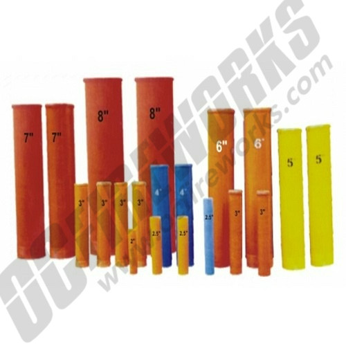 "Ugly Tubes 1.75"" Fiberglass Baseless Mortars Misc Colors 16ct"