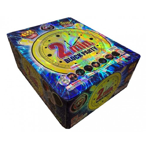 Wholesale Fireworks 2 Minute Block Party Case 3/1