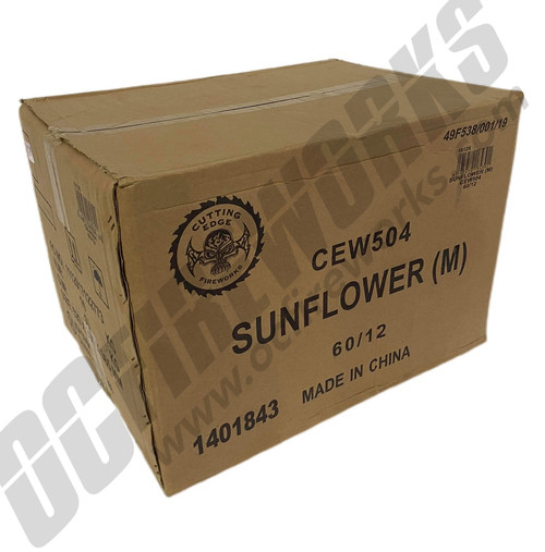Wholesale Fireworks Sunflower Planes Case 60/12