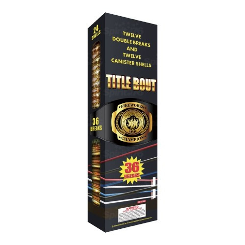 Title Bout Canister Shell Kit
