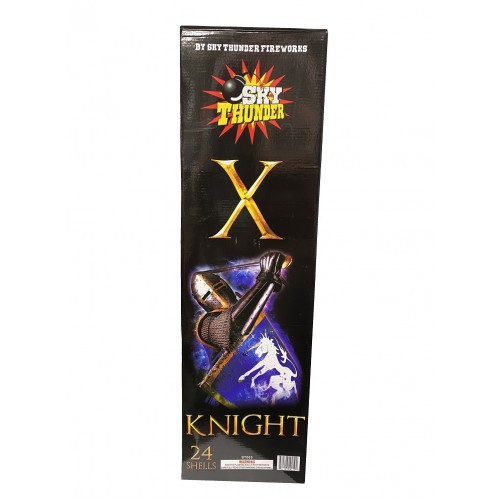 X-Knight 24ct Canister Artillery Shell Kit
