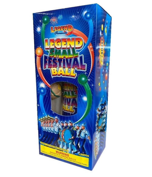 Legend Small Festival Balls 6pk BUY 1 GET 1 FREE !