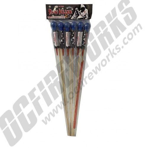 Pain Killer Rockets 6pk