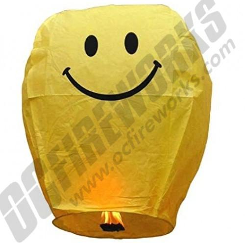 Smiley Face Sky Lantern