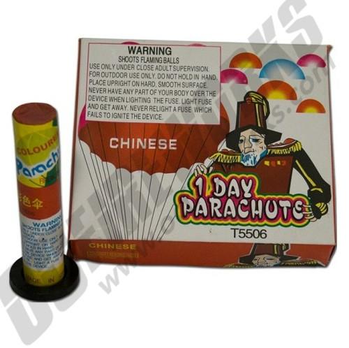 Single Day Parachute (Daytime) 6pk