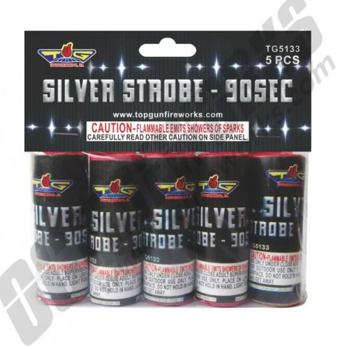 90 Second Silver Strobe 5pk