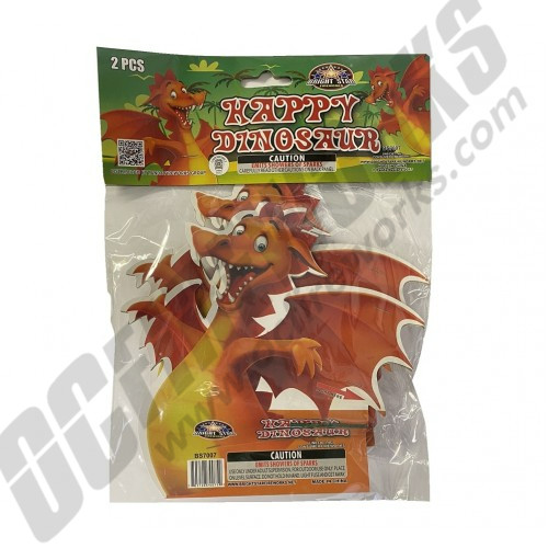 Happy Dinosaur 2pk