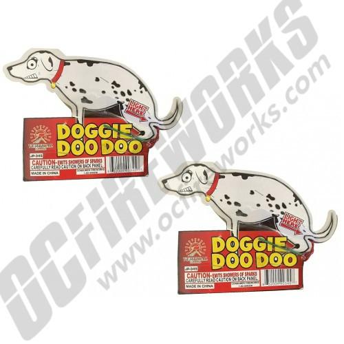 Doggie Doo Doo 2pk
