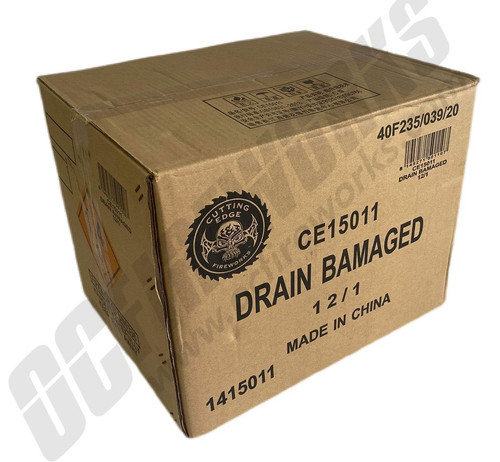 Wholesale Fireworks Drain Bamaged 12/1 Case