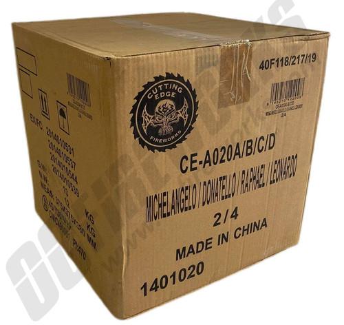Wholesale Fireworks Ninja Assortment Case 8/1