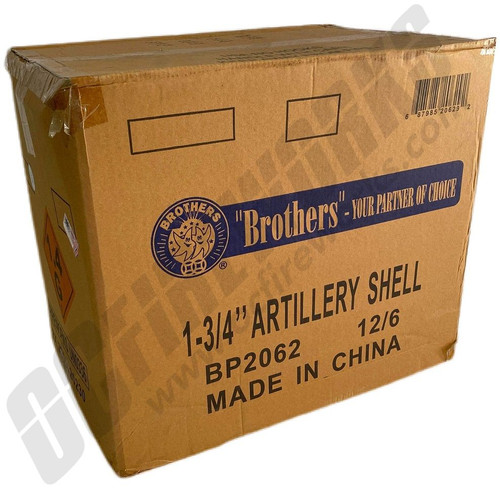 Wholesale Fireworks Brothers 6ct Artillery Shell Kit Case 12/6