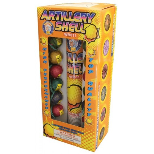 Wholesale Fireworks Brothers Premium 12ct Artillery Shell Kit Case 12/12