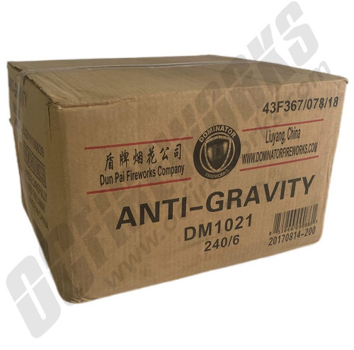 Wholesale Fireworks Anti Gravity Ground Spinners Case 240/6