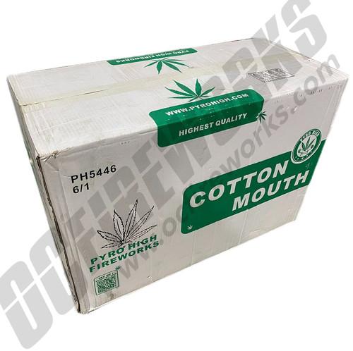 Wholesale Fireworks Cotton Mouth Case 6/1