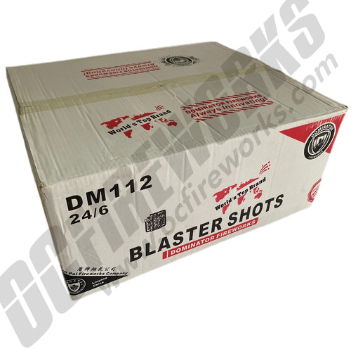Wholesale Fireworks Blaster Shots Case 24/6