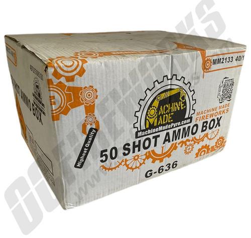 Wholesale Fireworks 50 Shot Ammo Box Case 40/1