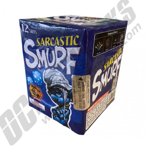 Sarcastic Smurf