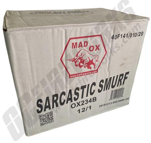Wholesale Fireworks Sarcastic Smurf Case 12/1
