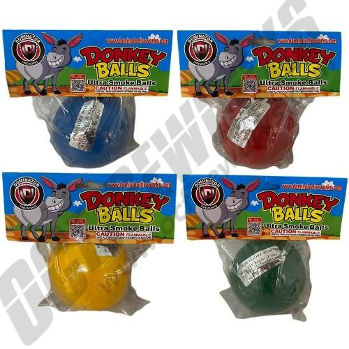 """Donkey Balls Ultra 4"""" Smoke Ball Assorted Colors"""